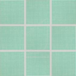 Mozaika/dlažba/obklad Rako Samba GAT0K117 zelená, 10x10cm