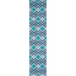 Listela Rako Denim WLAMC010 modrá, 9x40cm
