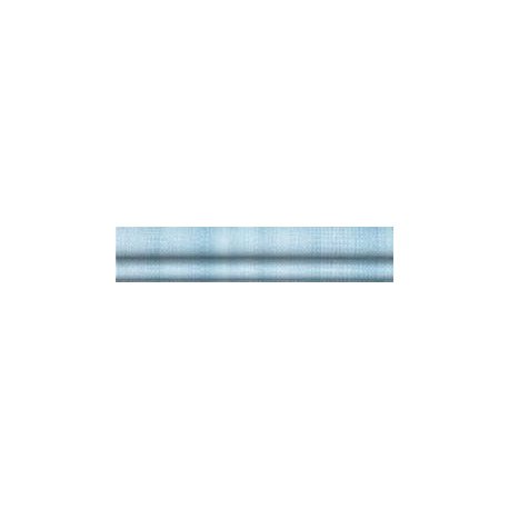 Listela reliéfní, bombato Rako Electra WLRGE079 modrá, 25x5cm